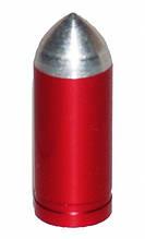 Ковпачок для камер X17, алюм. (куля) FV-тип, рожевий