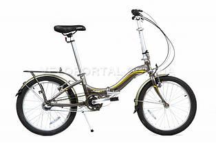 "Велосипед складаний Langtu KS 31 20"" Matt/Grey"