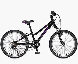 Велосипед Trek-2017 Precaliber 20 6SP Girls чорний (Black)