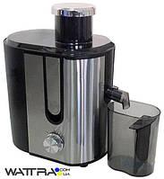 ⭐ Соковыжималка Grunhelm GJR624 (600 Вт, стакан 450 мл, с щеткой)