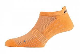 Шкарпетки чоловічі P.A.C. Footie Active Short Men Neon Orange 44-47