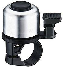 Дзвоник VK B405 хомут 22,2 мм чорний