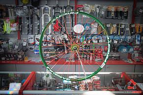 """Колесо заднє FireEye 29"""" GNOR зелений, фото 2"""