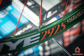 """Колесо заднє FireEye 29"""" GNOR зелений, фото 3"""