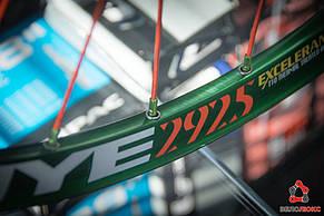 """Колесо переднє FireEye 29"""" GNOR зелений, фото 2"""
