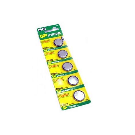 Бат. диск GP CR2032-U5 Lithium CR2032, 3V, фото 2
