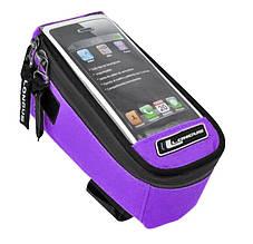 Сумка на раму Longus Media (об'єм 0,5л) фіолетовий