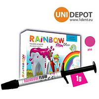 Rainbow flow шприц 1г. Рейнбоу флоу жидкотекучий композит
