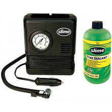Ремкомплект для автопокришок Slime Smart Spair (герметик+повітряний компресор)
