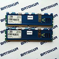 Игровая оперативная память Mushkin DDR2 1Gb+1Gb 800MHz PC2 6400U CL4, Оригинал, для Intel/AMD, Гарантия, фото 1