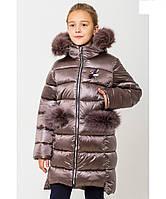 """Зимнее пальто для девочки""""Сабрина-1"""""""