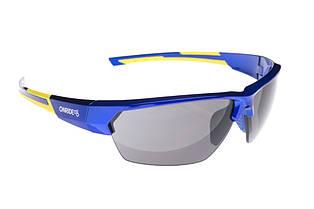 Окуляри Onride Spok блакитний/жовтий з лінзами Smoke