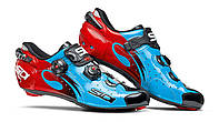 Взуття SIDI шосейне Wire Carbon Lucido Blue/Black/ Red 45