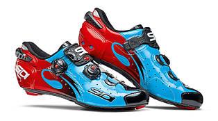 Взуття SIDI шосейне Wire Carbon Lucido Blue/Black/ Red 45