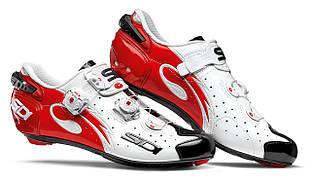 Взуття SIDI шосейне Wire Carbon Lucido White/Black/Red 46