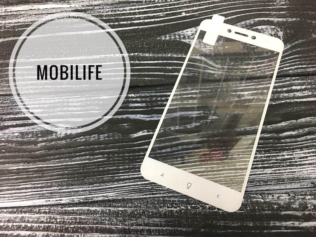3D скло Xiaomi Redmi 5A (На весь Екран) white