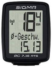 Велокомп'ютер Sigma Sport BC 7.16 ATS