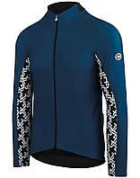 Термокуртка ASSOS весна осінь Mille GT Spring Fall блакитний XL 0224dde682252