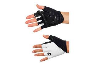 Рукавички ASSOS літо summerGloves_S7 Panter чорний/білий L