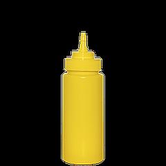 Бутылка 350мл с носиком (1шт), жёлтая