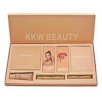 Набор декоративной косметики KYLIE KKW BEAUTY  Persistent Cosmetic Sets 7 in 1 / 12 предметов