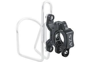 Адаптер фляготримача KLS Slot на руль велосипеда чорний