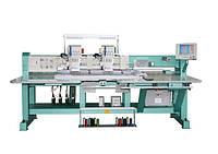 Вышивальная машина 2-головочная для вышивки цепным стежком + 'шенилью'(имитацией махры)