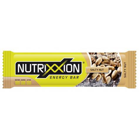Nutrixxion Енергетичний батончик, солоний горіх (55 г), фото 2