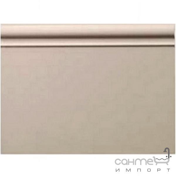 Плитка для ванной Devon&Devon Плитка керамическая плинтус DEVON&DEVON ELYSEES BOISERIE plinth (grey beige) ddeBplgB