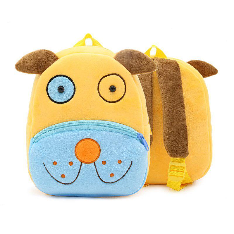 Детский велюровый рюкзак Puppy