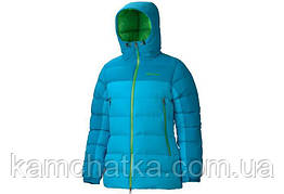 Пуховик Marmot Women's Mountain Down Jacket 77590 XS, Blue Sea - Mosaic Blue (2318)