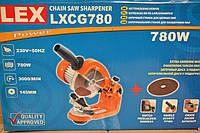 Верстат для заточування ланцюгів LEX-LXCG780, індуктивний двигун, фото 1