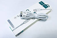 USB кабель Hoco X15 iPhone Lightning на Type-C data transfer quick charging white