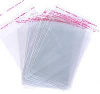 Пакет для упаковки Пряников с липкой лентой 140*200мм (100 шт)