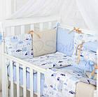 Комплект детского белья Baby Design Premium машинки 6 пр, фото 3