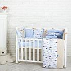Комплект детского белья Baby Design Premium машинки 6 пр, фото 4