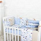 Комплект детского белья Baby Design Premium машинки 6 пр, фото 5