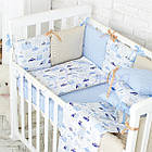 Комплект детского белья Baby Design Premium машинки 6 пр, фото 6