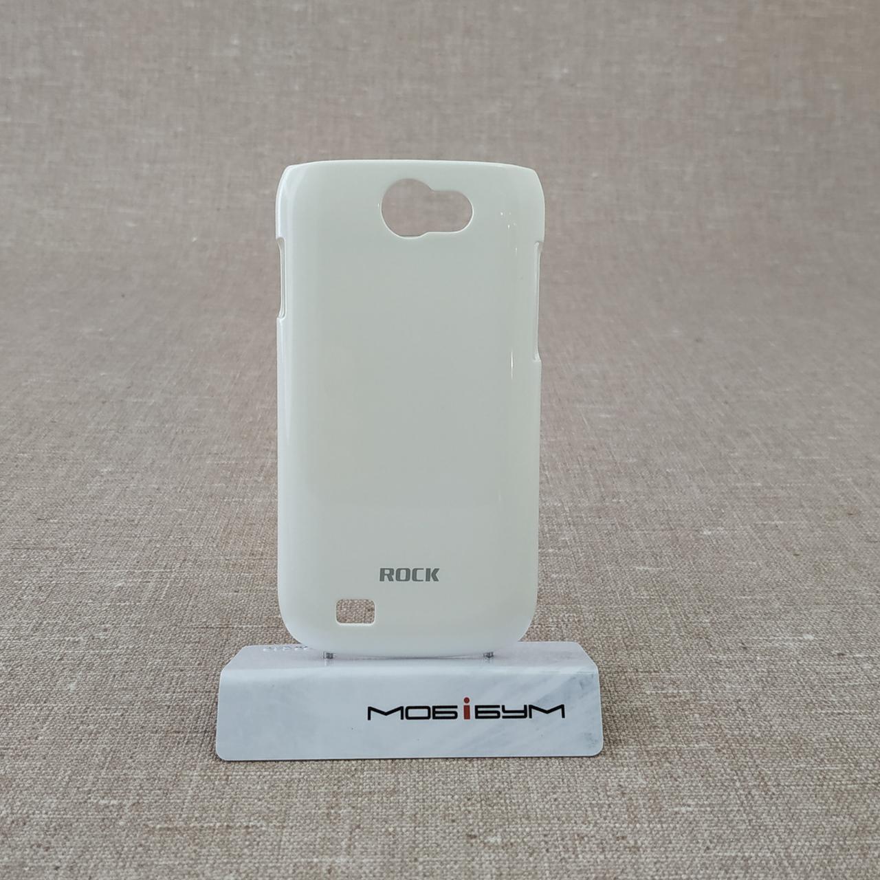 Накладка ROCK Color-ful Samsung i8150 Galaxy W [+пленка] white EAN/UPC: 695029065294