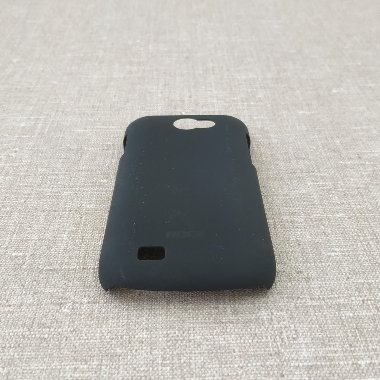Чехлы для Galaxy других серий ROCK NakedShell Samsung i8150 black Для телефона