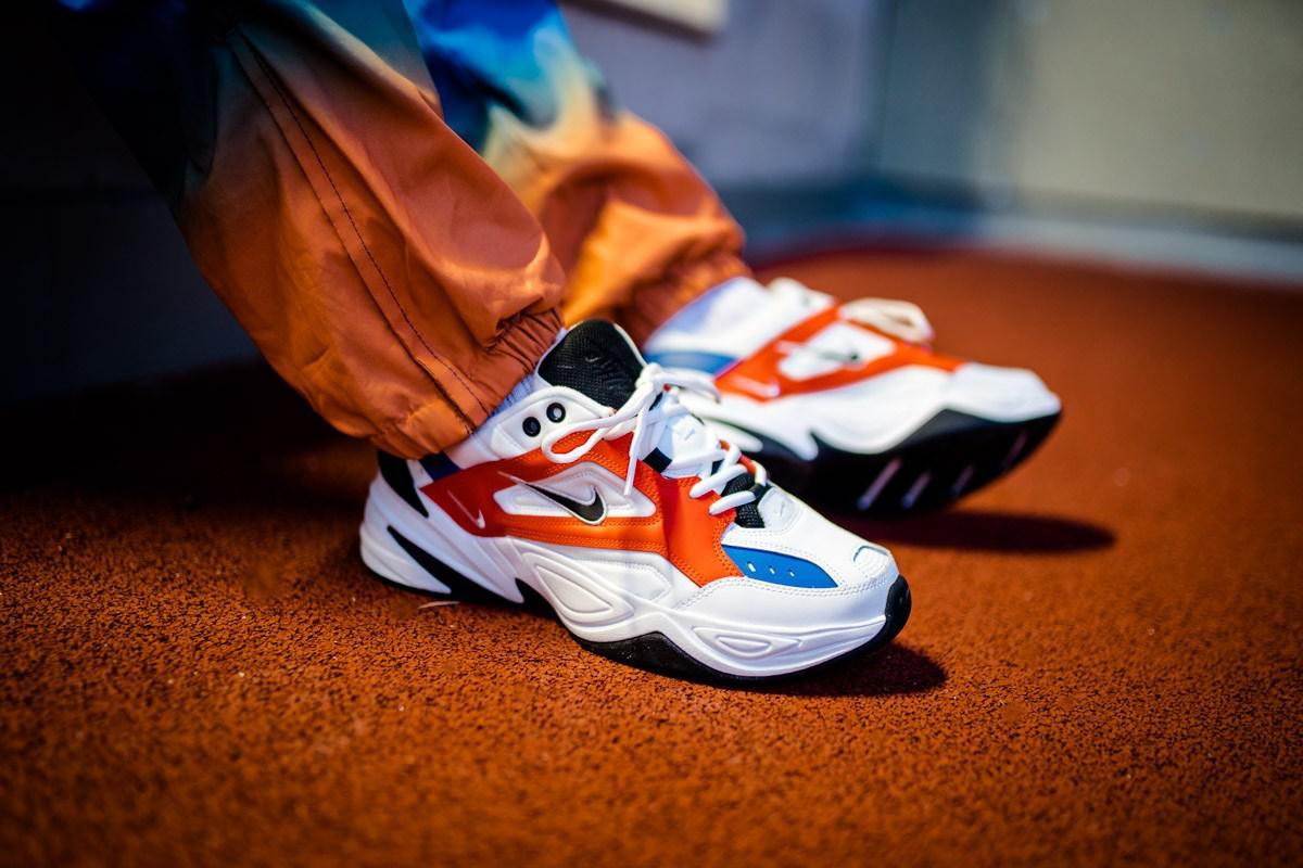 Мужские кроссовки Nike M2K Tekno John Elliot ( Реплика )