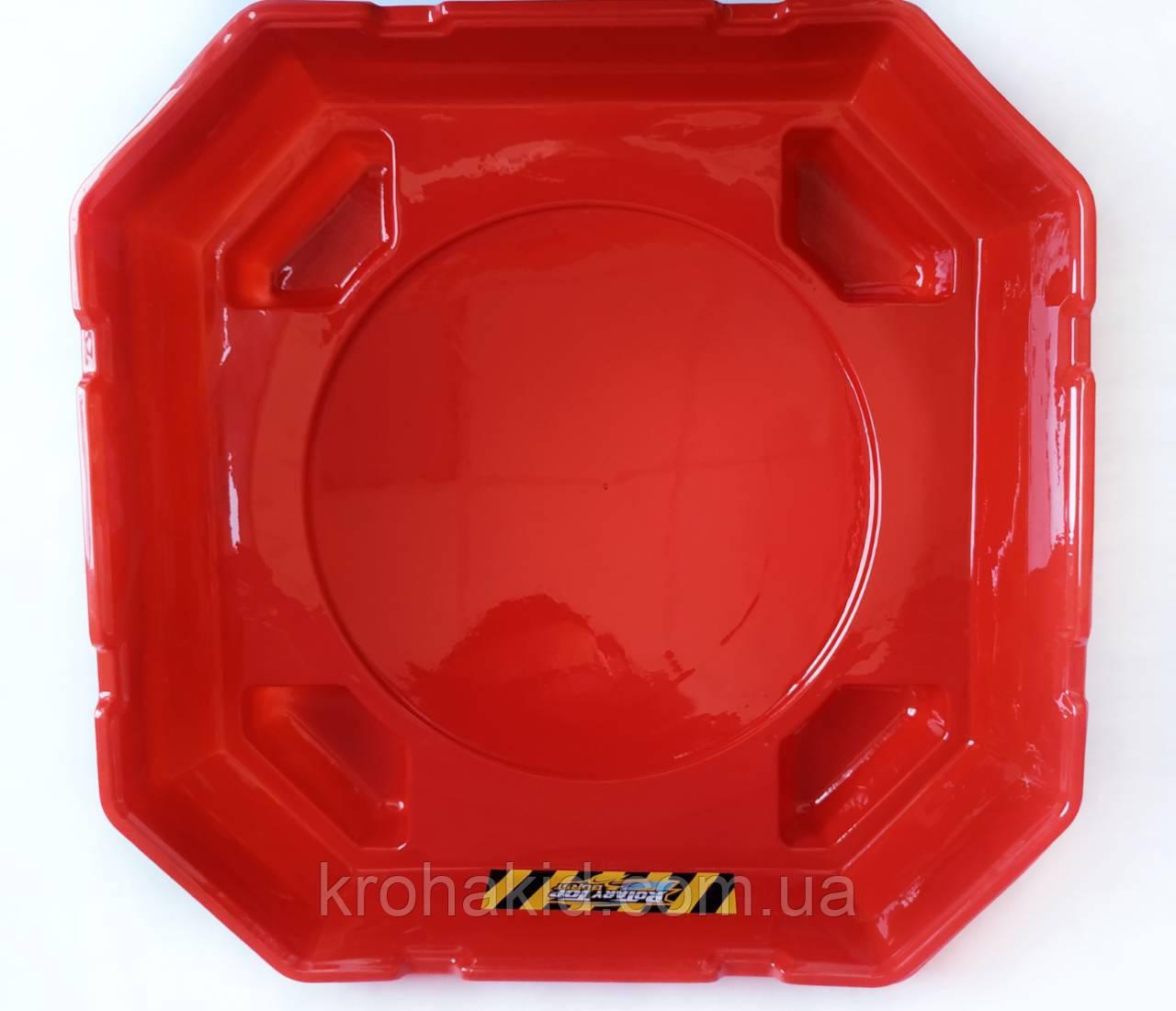 Арена для BeyBlade с ловушками 40 см (красная)