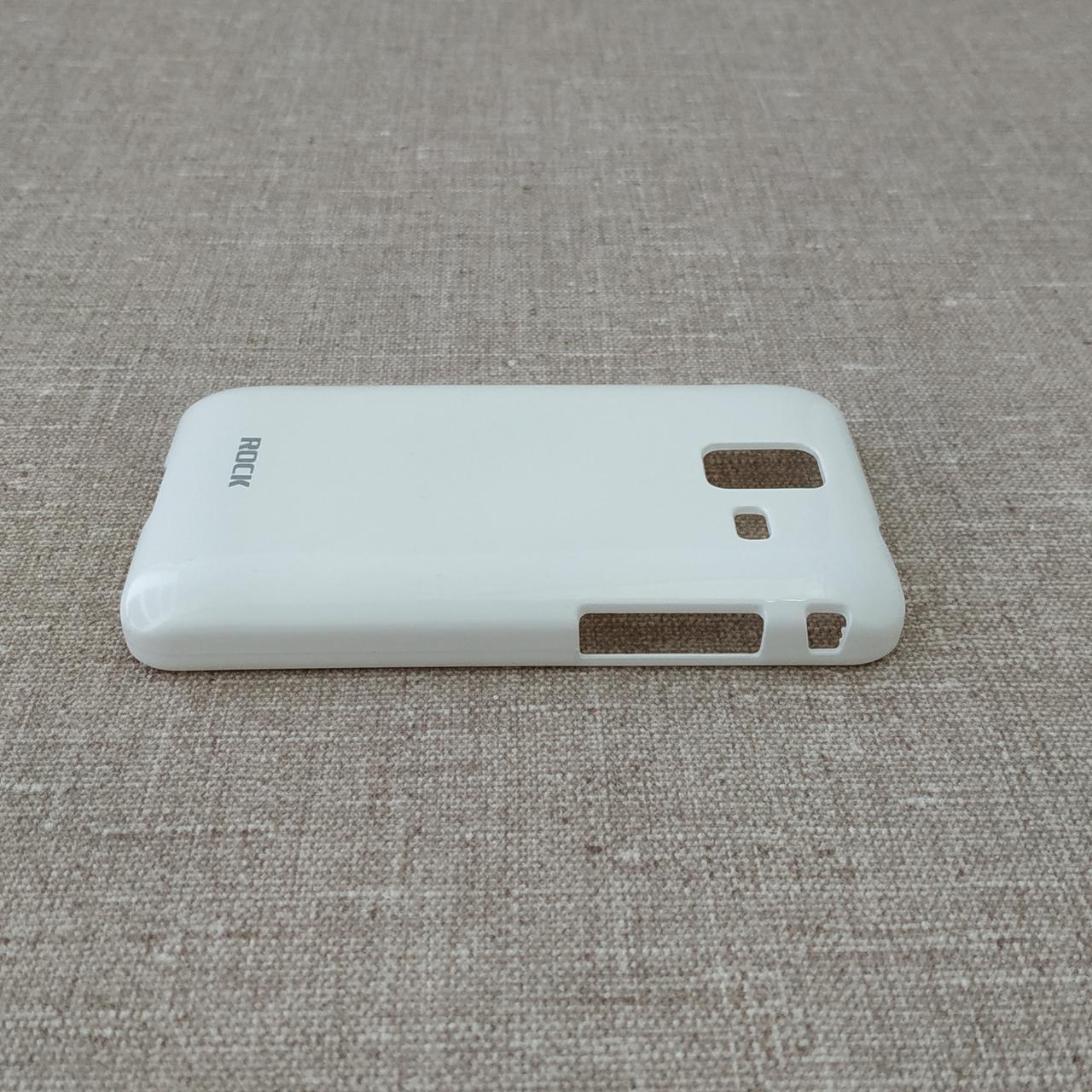 Накладка ROCK Color-ful Samsung S7250 white