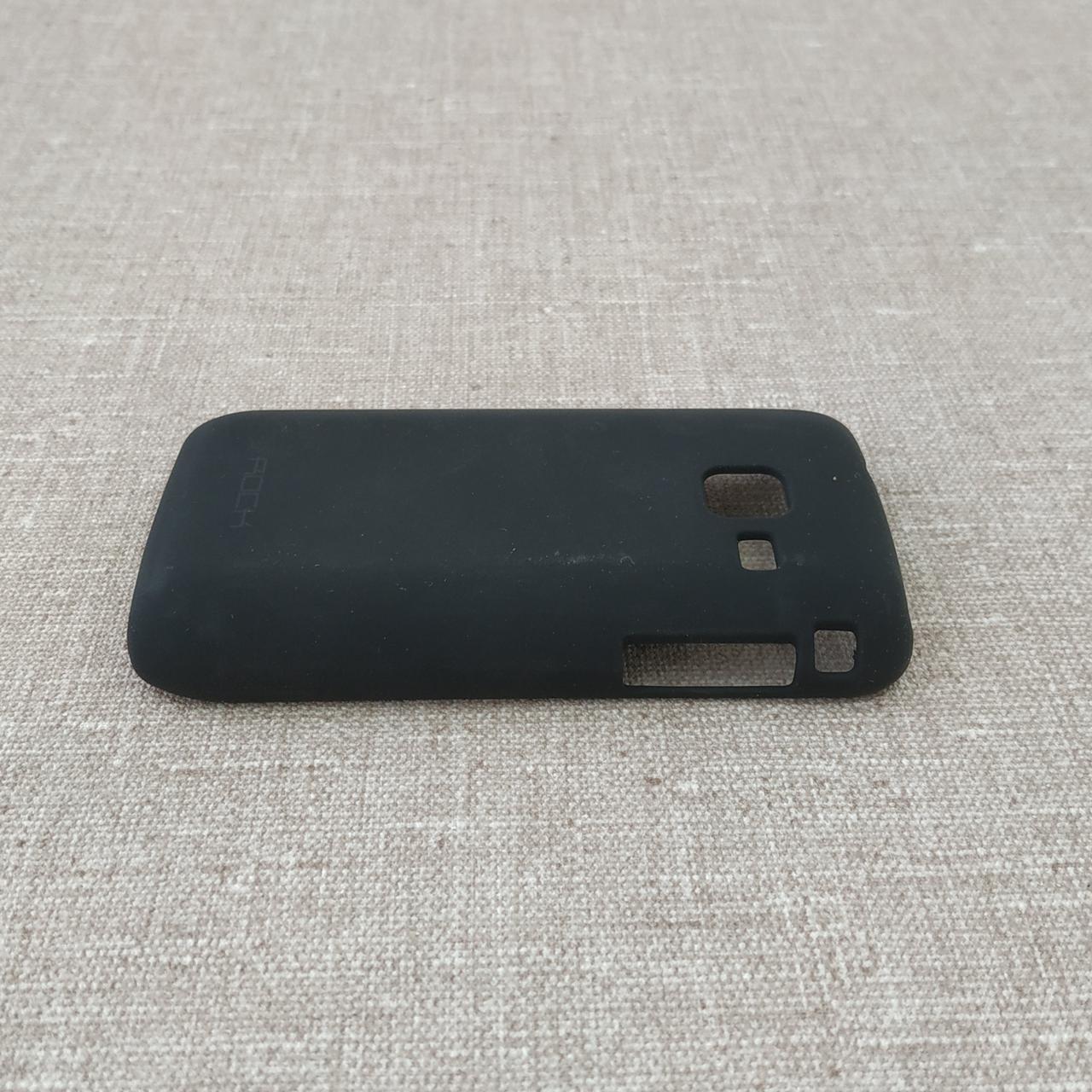 Накладка ROCK NakedShell Samsung S5380 black Для телефона