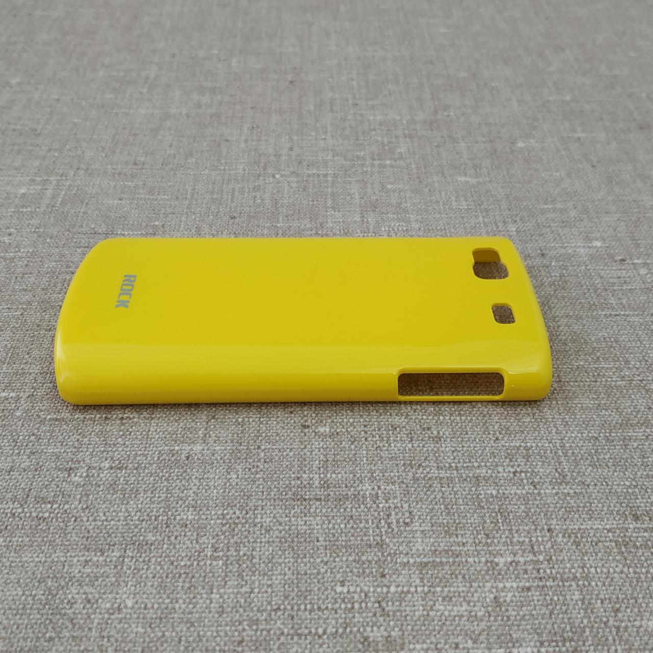 Накладка ROCK Color-ful Samsung S8600 yellow Galaxy S8