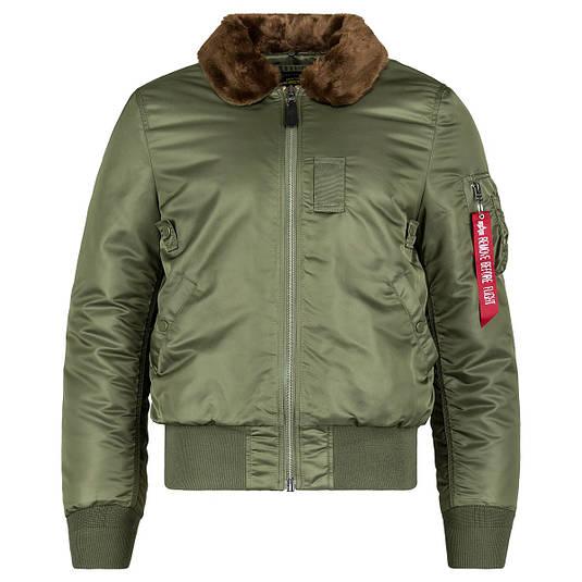 Куртка Alpha Industries B-15 Slim Fit Sage/Brown