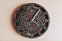 Годинник настінний з кельтським орнаментом, фото 1