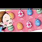 Набор пилинговых крем-масок MILATTE Fashiony Egg Peel-Off Cream Pack 8шт., фото 2