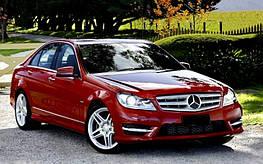 Диски и шины на Mercedes Benz C-Class W 204