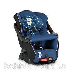 Автокресло Lorelli BUMPER 9-18 KG DARK BLUE TEDDY BEAR от 1 до 4-х лет